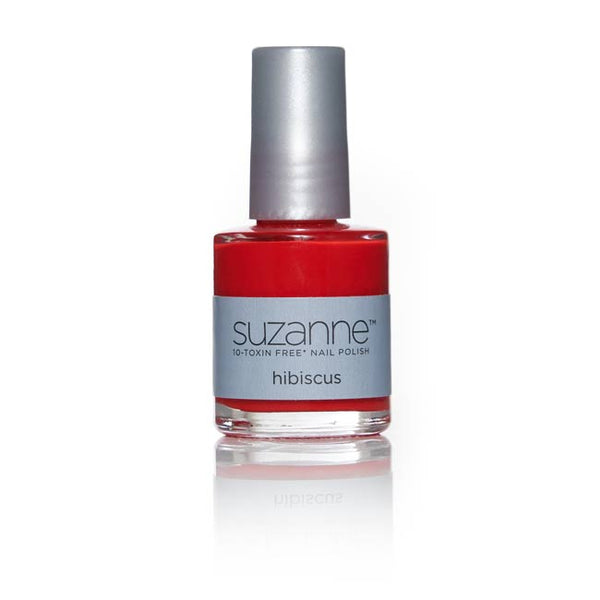 Suzanne Somers – SUZANNE 10‐Toxin Free Nail Polish – Hibiscus