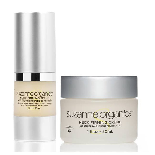 Suzanne Somers – SUZANNE Organics Neck Firming Duo – Creme and Serum