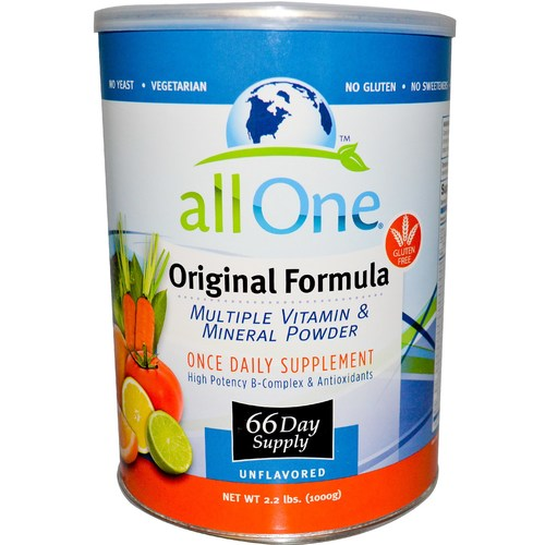 All One Original Formula Unflavored – 2.2 lbs (66-Day Supply)