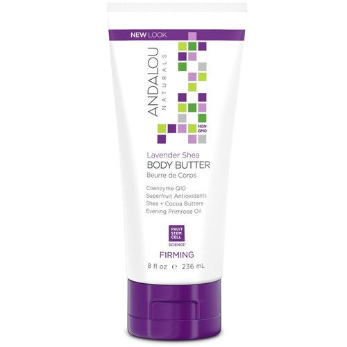 Andalou Naturals Body Butter Lavender – Firming – 8 oz