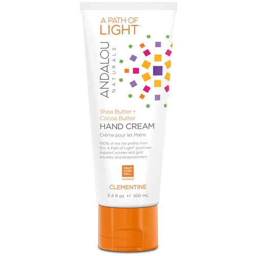 Andalou Naturals A Path of Light Hand Cream Clementine – 3.4 oz