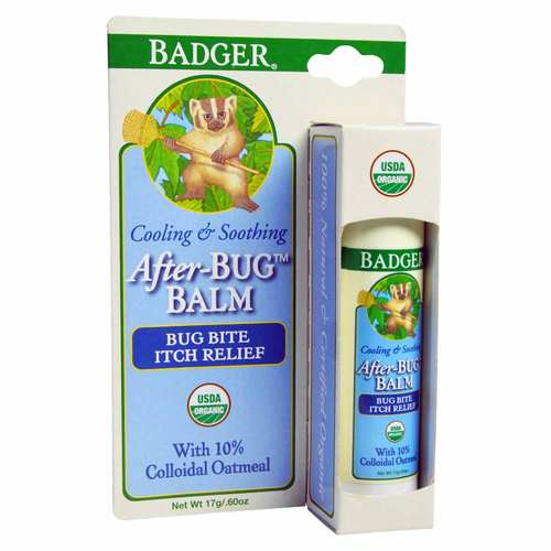 Badger After Bug Balm – Bite Itch Relief Stick – .6 oz (17 g)