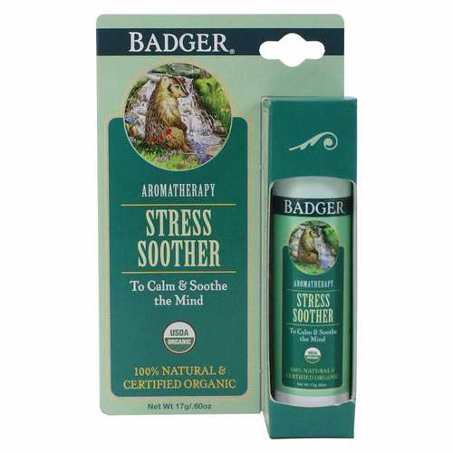 Badger Stress Soother – Tangerine Rosemary – .6 oz (17 g)