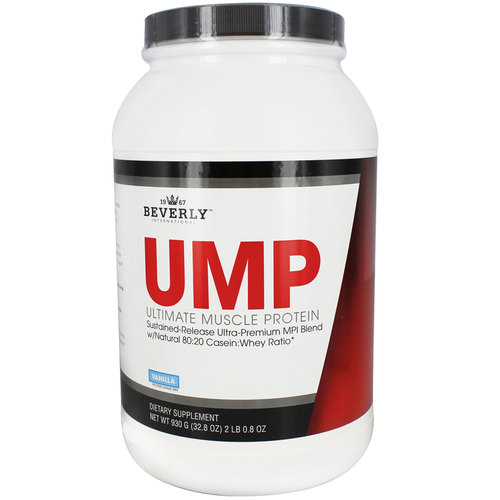 Beverly International Ultimate Muscle Protein Vanilla – 32.8 oz