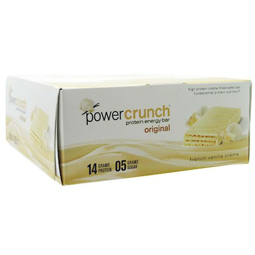 BioNutritional Research Group Power Crunch Bar French Vanilla Creme – 12 Bars