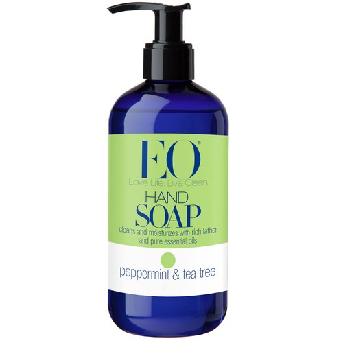 Eo Products Hand Soap Peppermint & Tea Tree – 12 oz