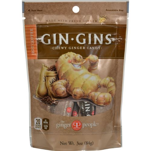 Ginger People Ginger Chews Hot Coffee – 24 – 3 oz bags