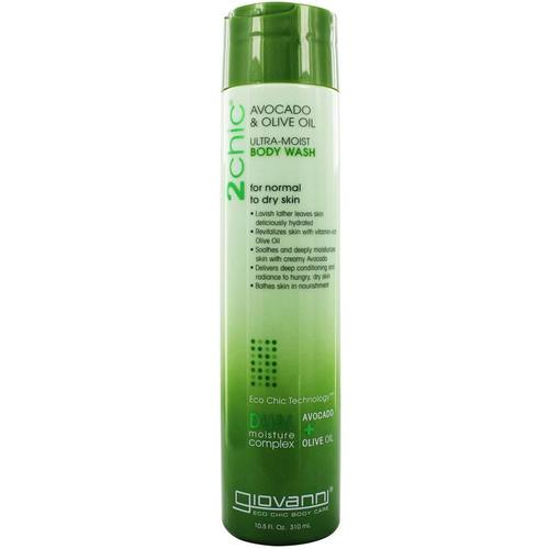 Giovanni Hair Care Products 2chic Body Wash Avocado & Olive Oil – 10.5 oz