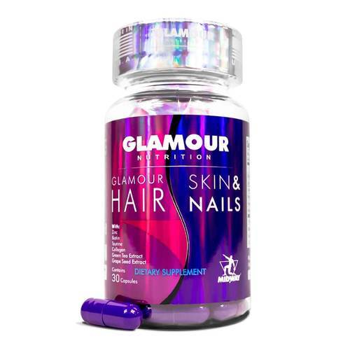Glamour Nutrition Glamour Hair Skin and Nails – 30 Capsules