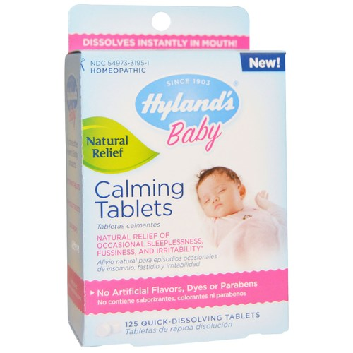 Hyland's Baby Calming Tablets – 125 Tablets