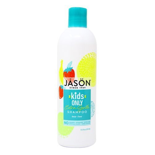 Jason Natural Cosmetics Only All Natural Shampoo Extra Gentle – 17.5 fl oz (517 ml)