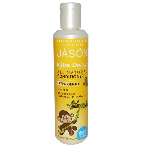 Jason Natural Cosmetics Kids Only! All Natural Conditioner Extra Gentle – 8 oz