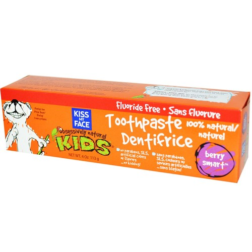 Kiss My Face Obsessively Natural Kids Toothpaste Berry – 4 oz
