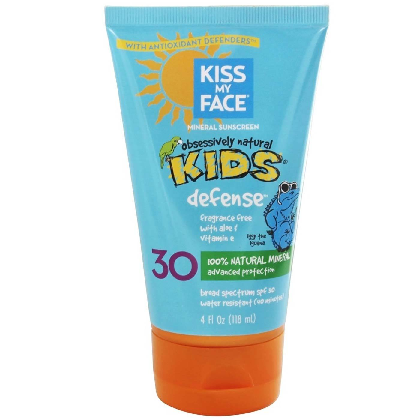 Kiss My Face Kids Natural Mineral Sunblock Lotion SPF 30 – 4 oz