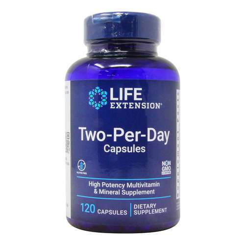 Life Extension Two-Per-Day Capsules – 120 Capsules