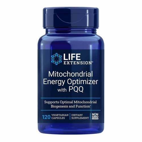 Life Extension Mitochondrial Energy Optimizer with BioPQQ – 120 Vegetarian Capsules