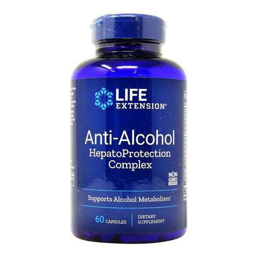 Life Extension Anti-Alcohol HepatoProtection Complex – 60 Capsules