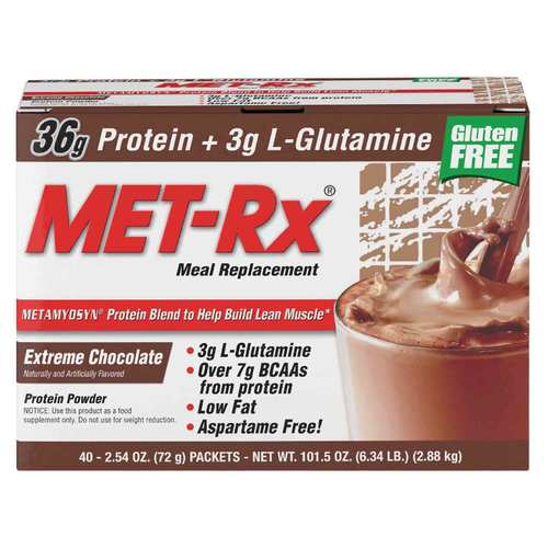 MET-Rx Meal Replacement Protein Powder Chocolate – 40 packets