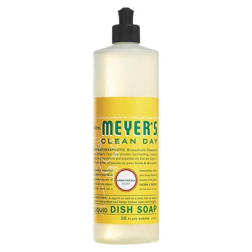Mrs. Meyers Clean Day Dish Soap Honeysuckle – 16 oz