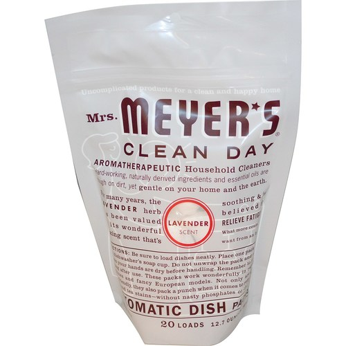 Mrs. Meyers Clean Day Automatic Dish Packs Lavender – 12.7 oz