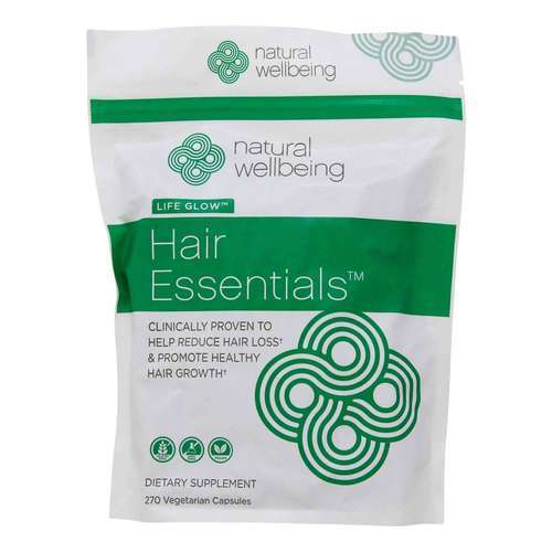 Natural Wellbeing Hair Essentials 3 Month Supply – 270 Vegetarian Capsules