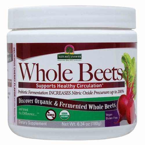 Nature's Answer Organic Fermented Whole Beets – 6.34 oz.