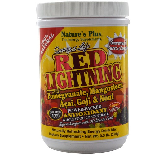 Nature's Plus Source of Life Power-Packed Whole Food Concentrate – Red Lightning – .5 lb Powder