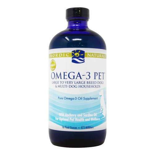 Nordic Naturals Omega-3 Pet Large to Very Large Breed Dogs – 16 fl oz (473 ml)