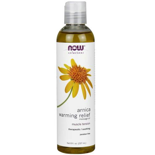 Now Foods Arnica Warming Relief Massage Oil – 8 oz.