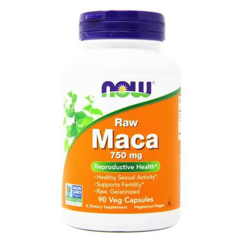 Now Foods Raw Maca – 90 VCapsules