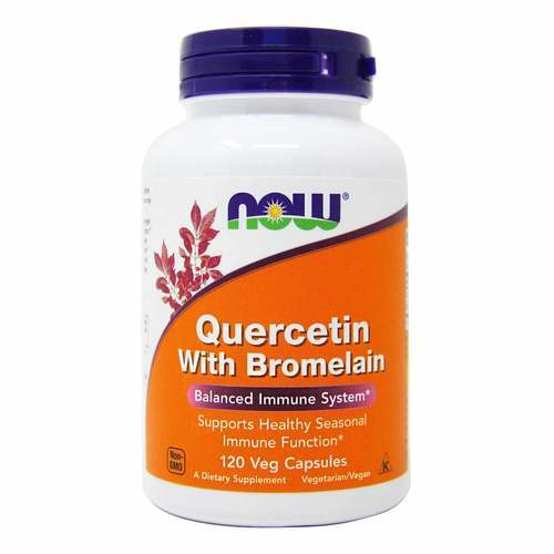 Now Foods Quercetin with Bromelain – 120 VCapsules