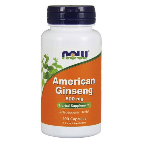 Now Foods American Ginseng – 100 Capsules