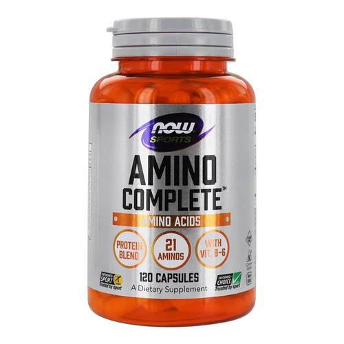 Now Foods Amino Complete – 120 Capsules