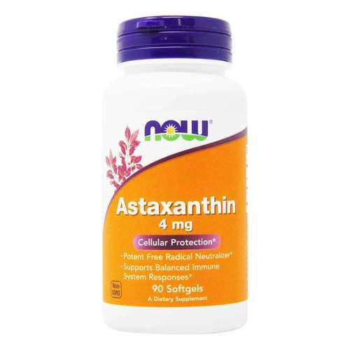 Now Foods Astaxanthin – 4 mg – 90 Softgels