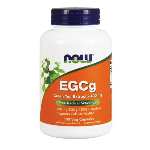 Now Foods EGCg Green Tea Extract – 180 VCapsules