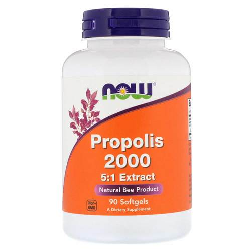 Now Foods Propolis 2000 5:1 Extract – 90 Soft Gels