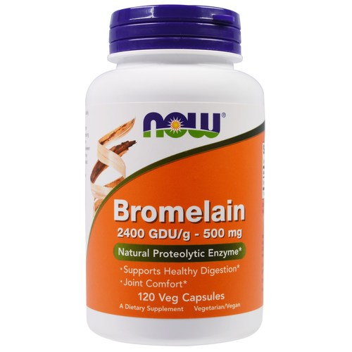 Now Foods Bromelain 500 mg – 120 VCapsules