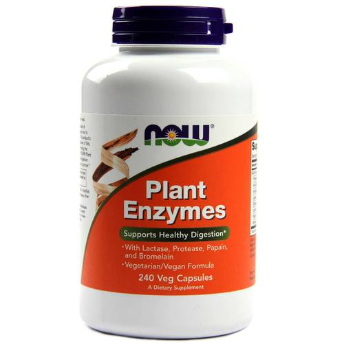 Now Foods Plant Enzymes – 240 VCapsules