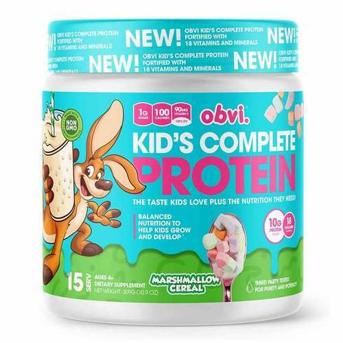 Obvi Kids Complete Protein Marshmallow Cereal – 10.9 oz (309 g)