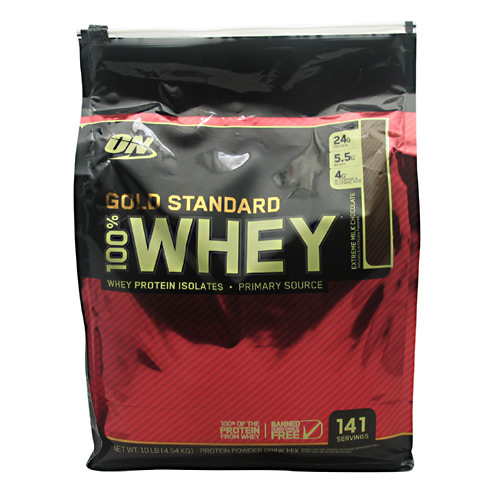 Optimum Nutrition Gold Standard 100% Whey Extreme Chocolate – 10 lbs