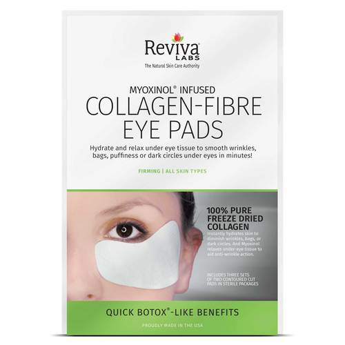 Reviva Labs Collagen-Fibre Eye Pads – 3 Pairs