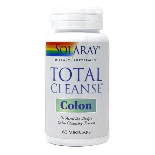Solaray Total Cleanse Colon – 60 Capsules
