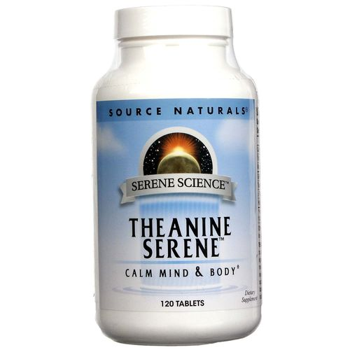 Source Naturals Theanine Serene – 120 Tablets