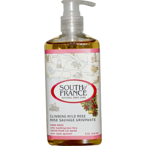 South Of France Hand Wash Climbing Wild Rose – 8 oz