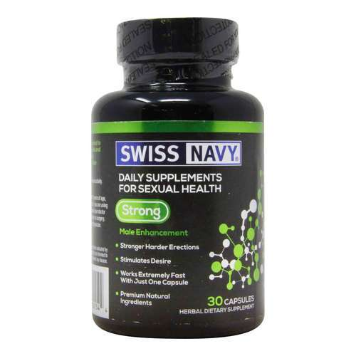 Swiss Navy Strong – 30 Capsules