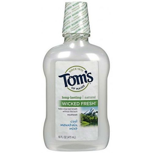 Tom's of Maine Wicked Fresh Mouthwash Cool Mountain Mint – 16 fl oz