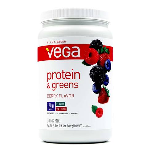 Vega Protein and Greens Berry – 21.5 oz