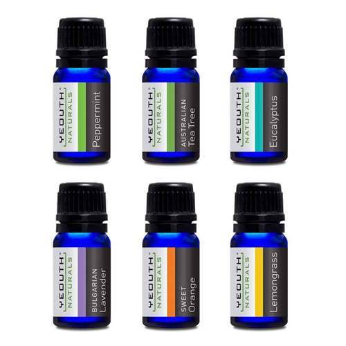 Yeouth Therapeutic Grade Essential Oil – 6 Pack