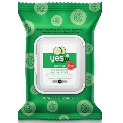 Yes To Cleansing Facial Wipes Cucumber – 30 wipes