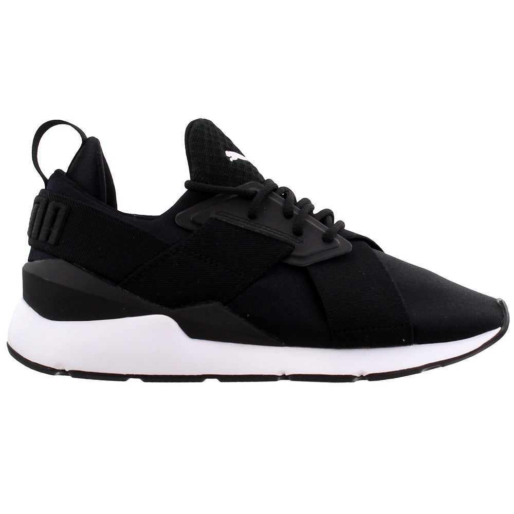SHOEBACCA – Puma Muse Satin EP Lace Up Sneakers